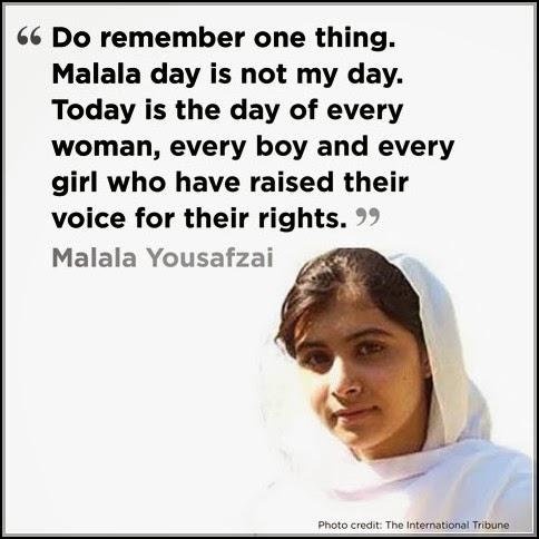 I Am Malala Book Quote...