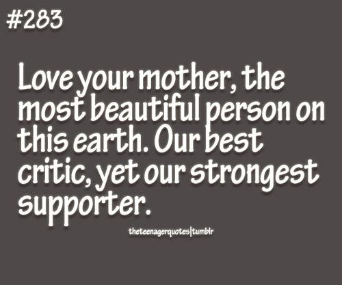 mom teach how to love