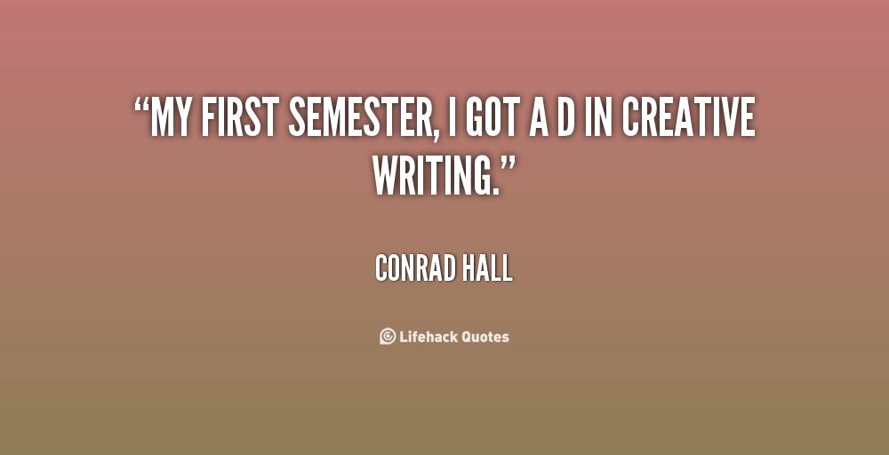 My Love of Creative Writing