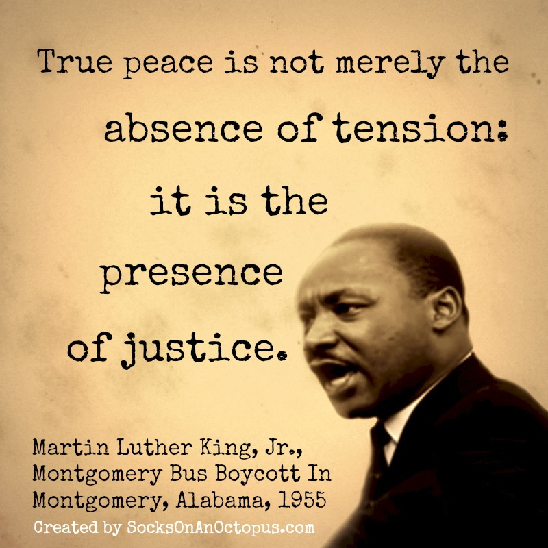 What Is Martin Luther King Famous Quote: Justice Quotes Martin Luther King Jr. QuotesGram