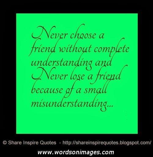 Losing A Friendship