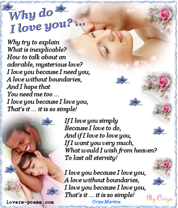 Poem for girlfriend in english