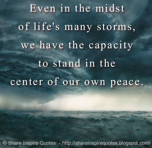 Love Quotes About Time Standing Still: Peace In The Storm Quotes. QuotesGram