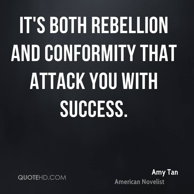 Quotes About Rebellion: Amy Tan Quotes. QuotesGram