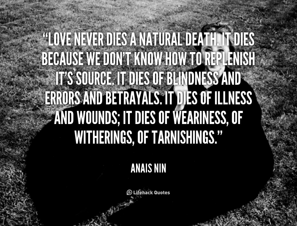 Anais Nin Love Quotes. QuotesGram