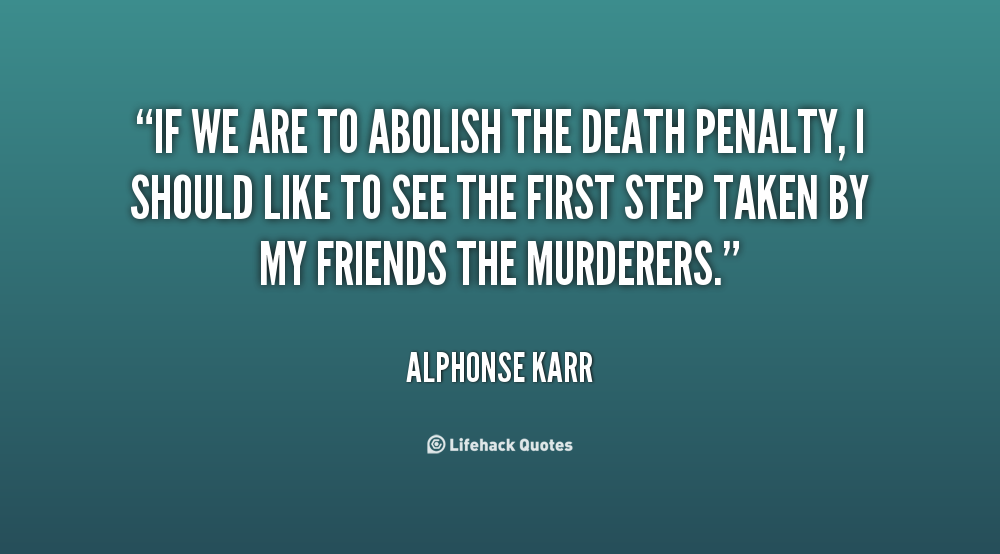 a call to end capital punishment essay