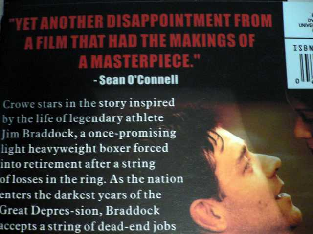 cinderella man great depressin Watch video title: cinderella man (2005) 8 /10 want to share imdb's rating on your own site use the html below you must be a registered.