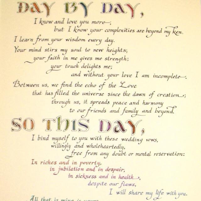Quotes Wedding Vows Quotesgram
