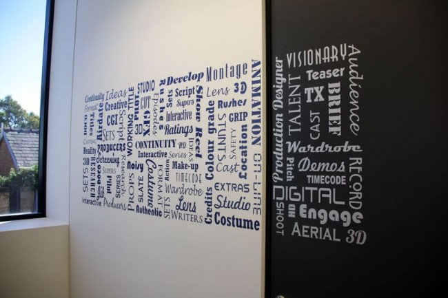 Office quotes wall murals quotesgram for Wall mural quotes