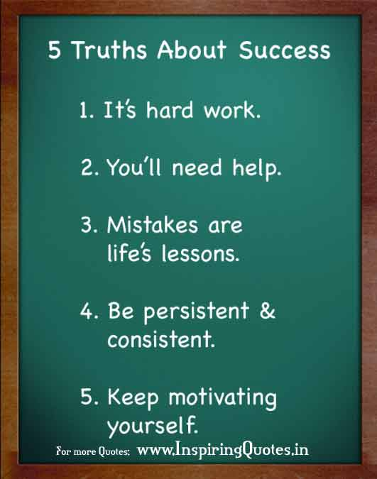 success in life based on hardwork All the so-called secrets of success will not work past effort and do not engage themselves in self-effort now ~swami venkatesananda [y]our life is a.