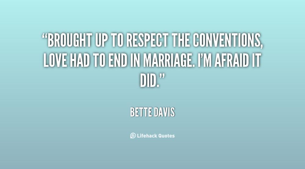 Respect In Marriage Quotes Quotesgram