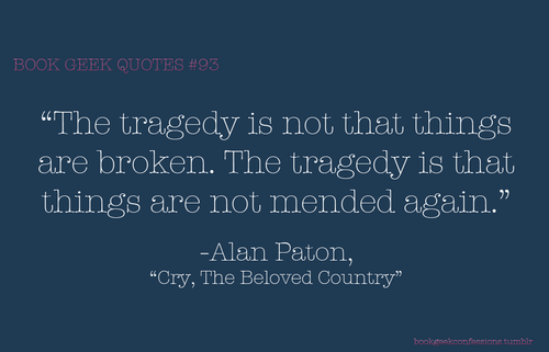 Cry the beloved country essay on fear
