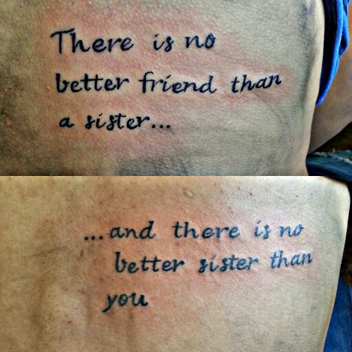 Friendship Tit For Tat Quotes: Best Friends Sister Quotes Tattoos. QuotesGram