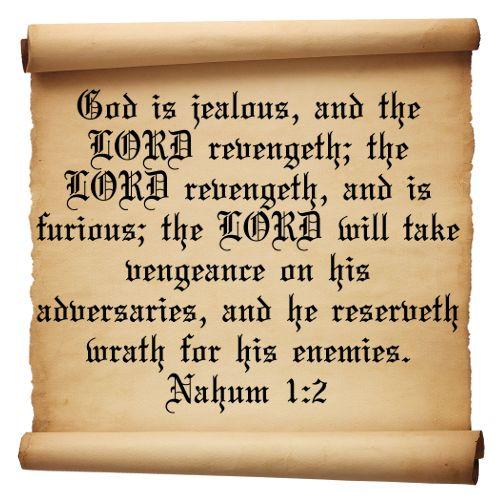 Bible Quotes Revenge