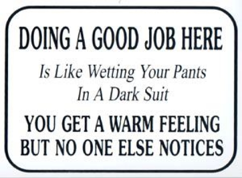 workplace crush signs