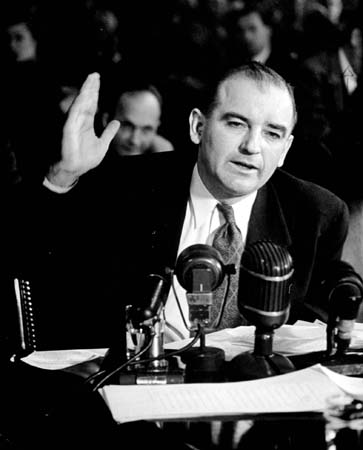 joseph mccarthy essay Senator joseph mccarthy, 1908-1957 the following biographical essay was prepared by the reference staff of the appleton public library, based primarily on information from the life and times of joe mccarthy: a biography by thomas c reeves.