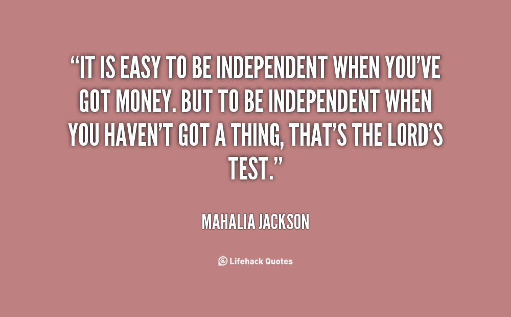 Independent Woman Quotes. QuotesGram