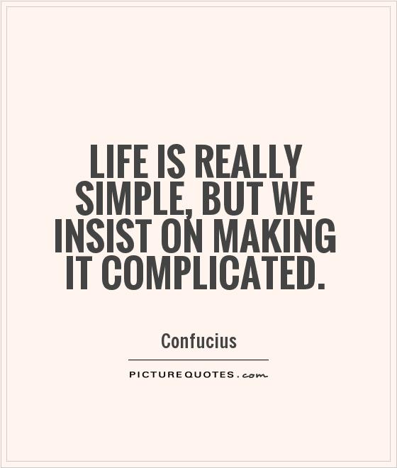 Complicated Quotes About Love: Complicated Quotes About Life. QuotesGram
