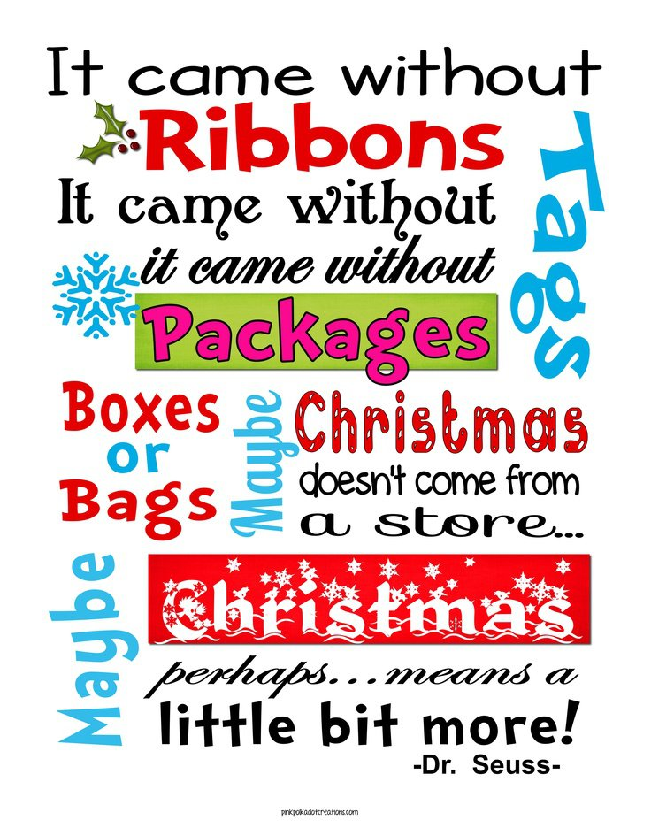 Dr Seuss And Christmas Quotes | Eryzmq