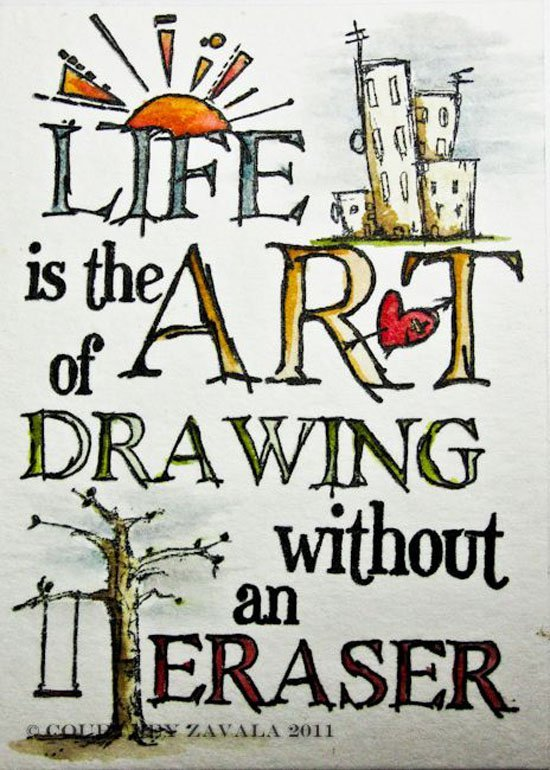 Scribble Drawing Quotes : Inspirational quotes with drawings quotesgram