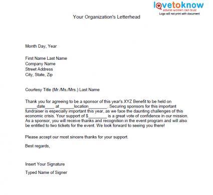Thank You Sponsorship Letter from cdn.quotesgram.com