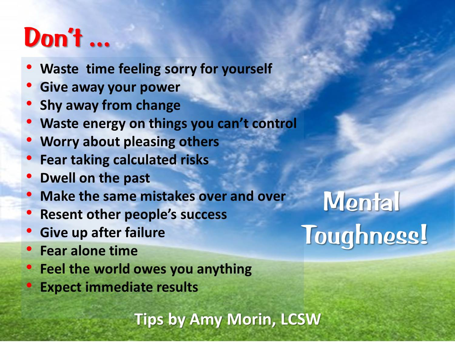 metnal toughness Mental toughness is a measure of individual resilience and confidence that may  predict success in sport, education and the workplace as a broad concept,.
