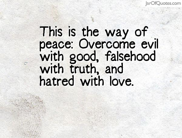 Overcoming Hatred Quotes. QuotesGram