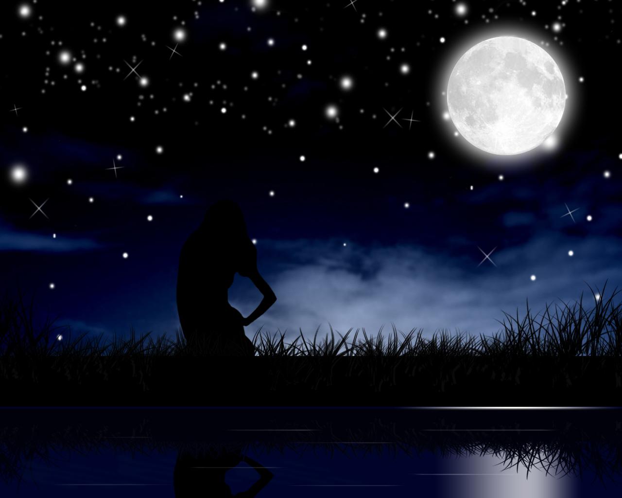 парень луна цветы картинки это исправление интимных