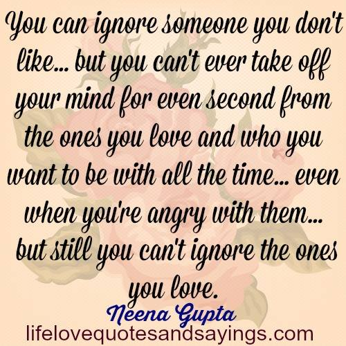 Quotes About People Ignoring You. QuotesGram