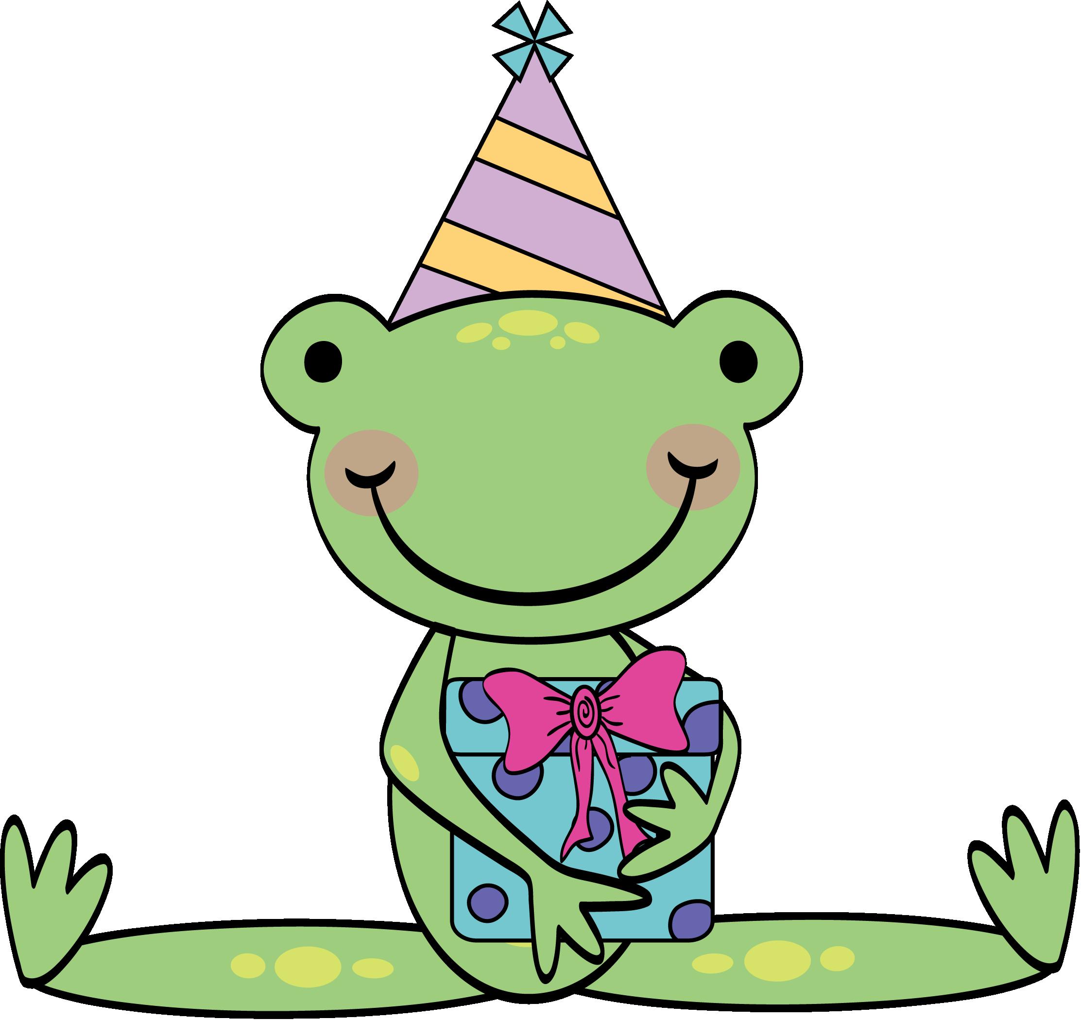 Открытки с жабами ко дню рождения