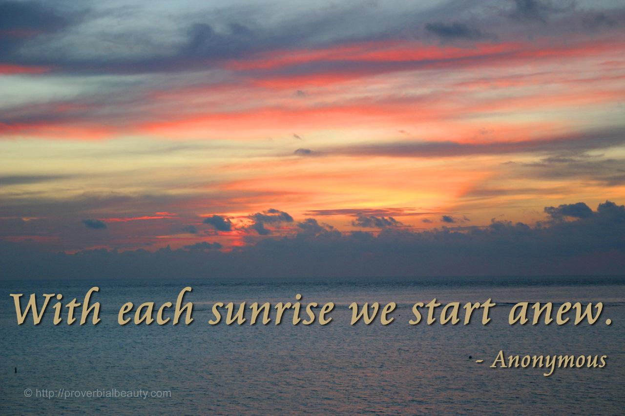 Sunrise Quotes And Sayings. QuotesGram