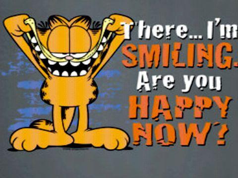 Garfield Happy Quotes Quotesgram