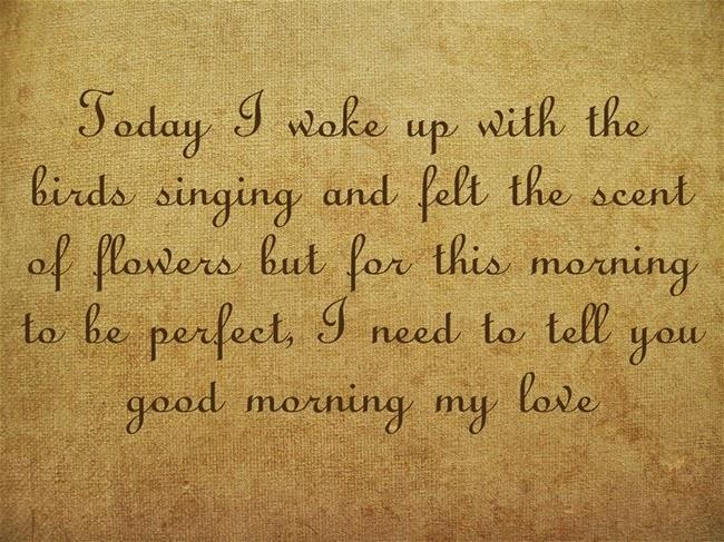 Good Morning Quotes For Him Quotesgram: Romantic Wake Up Quotes. QuotesGram