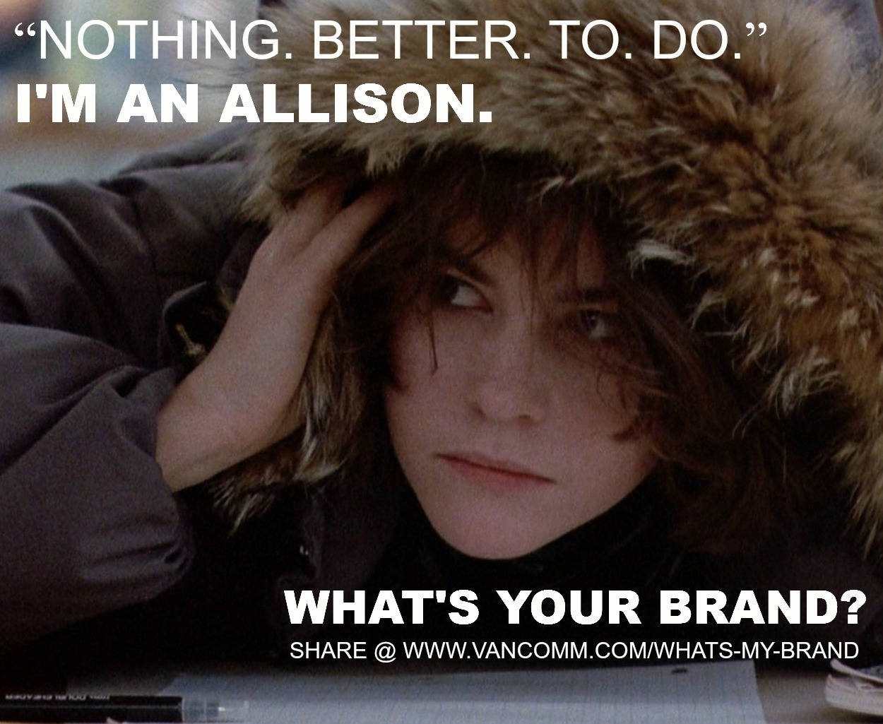 The breakfast club allison quotes