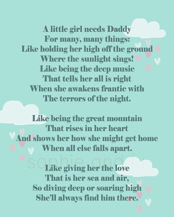 Daddys Girl Poems Quotes. QuotesGram