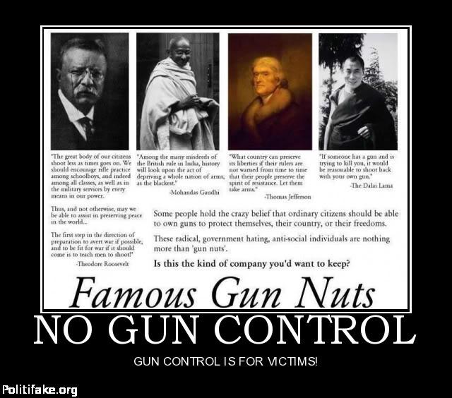 Quotes On Gun Control: Famous Quotes On Gun Control. QuotesGram