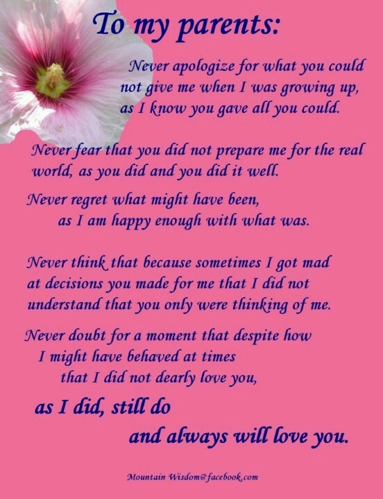 Quote For My Mom To Thank: Thankful Quotes For Parents. QuotesGram
