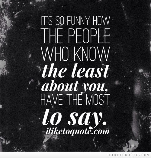 Quotes About Talking To People: Funny Quotes About People Who Talk About You. QuotesGram