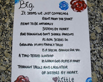 big sister sorority poems - photo #3
