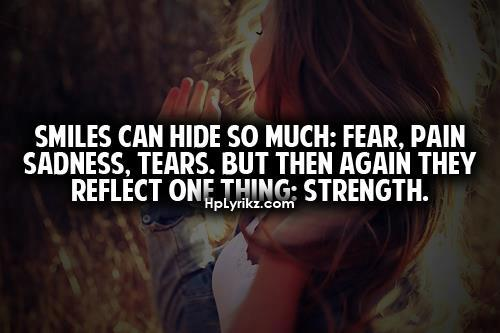 Quotes About Sadness And Strength. QuotesGram