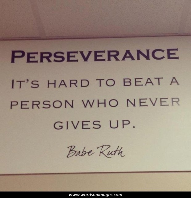 Perseverance Quotes: Great Quotes On Perseverance. QuotesGram
