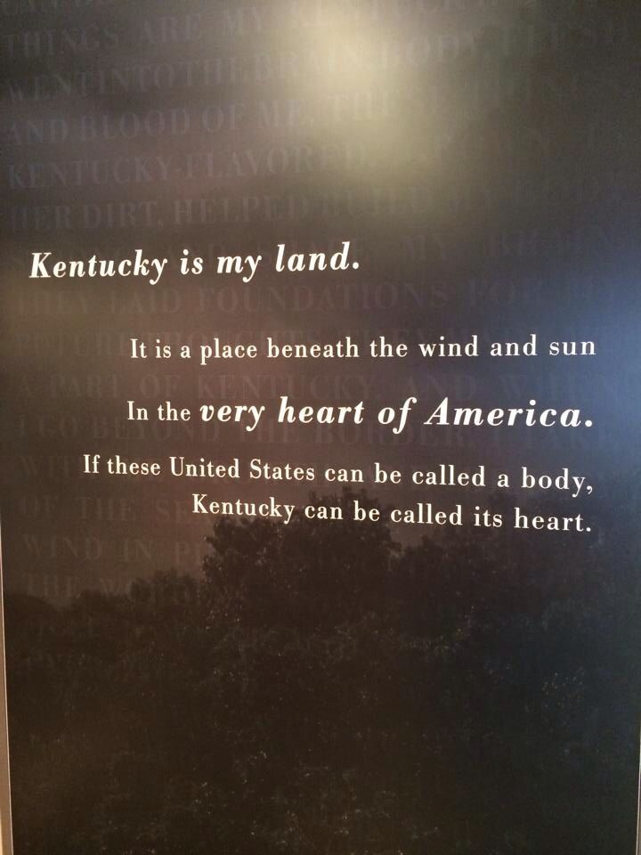 Quotes About Kentucky. QuotesGram