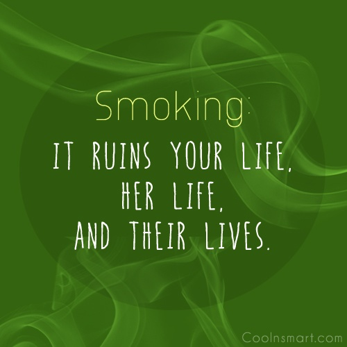 Anti Smoking Quotes: Quitting Smoking Quotes And Sayings. QuotesGram