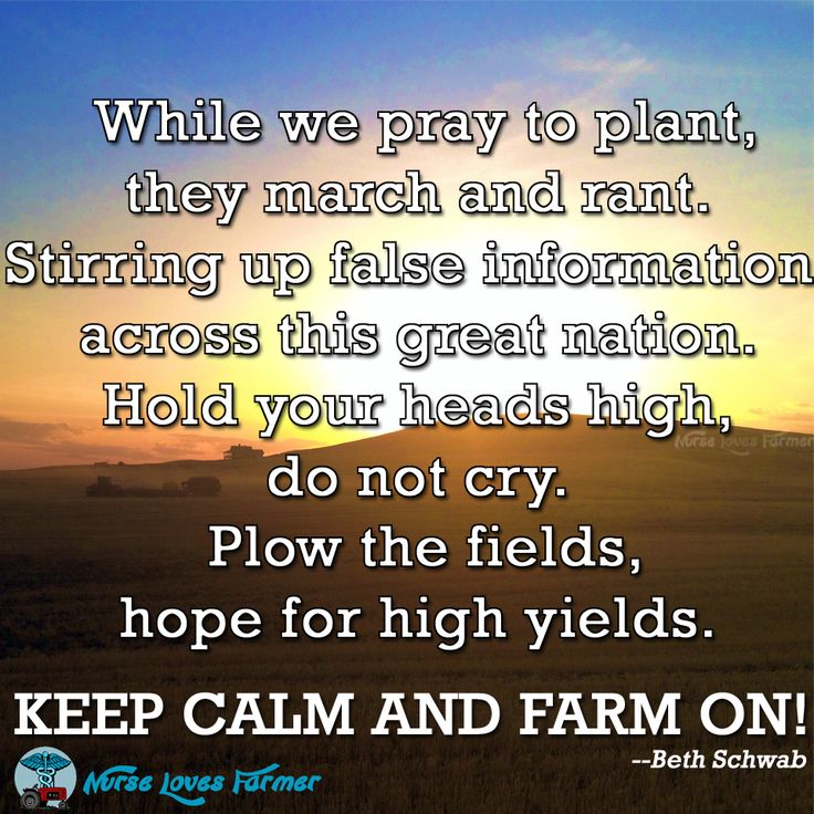 Farmer Quotes About Food Quotesgram