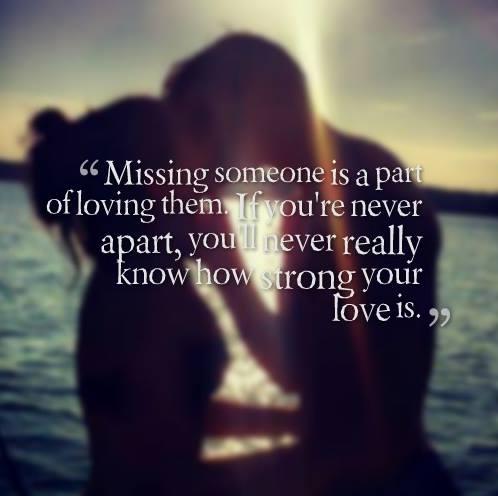 Romantic Quotes About Missing Someone. QuotesGram