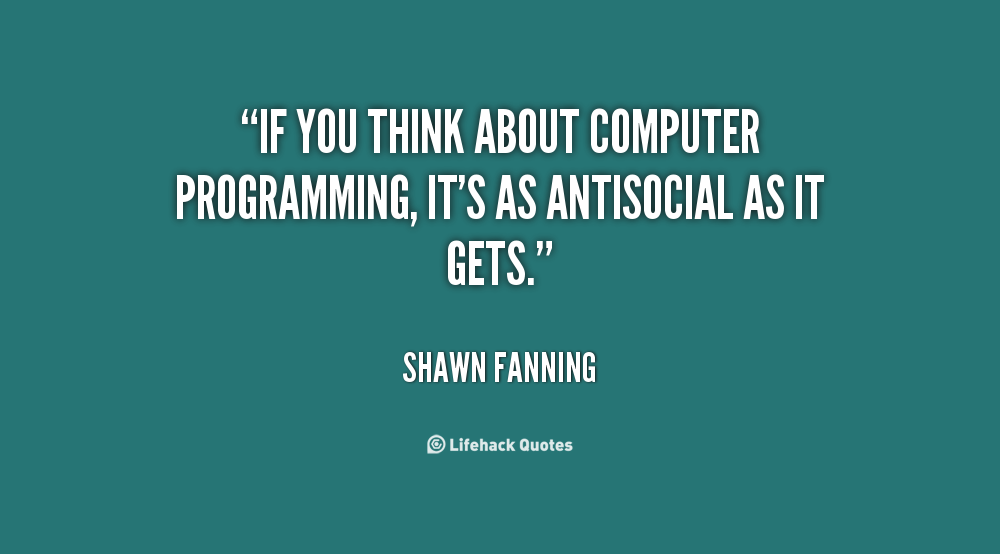 1000 Images About Programming Quotes On Pinterest: Computer Programming Quotes. QuotesGram