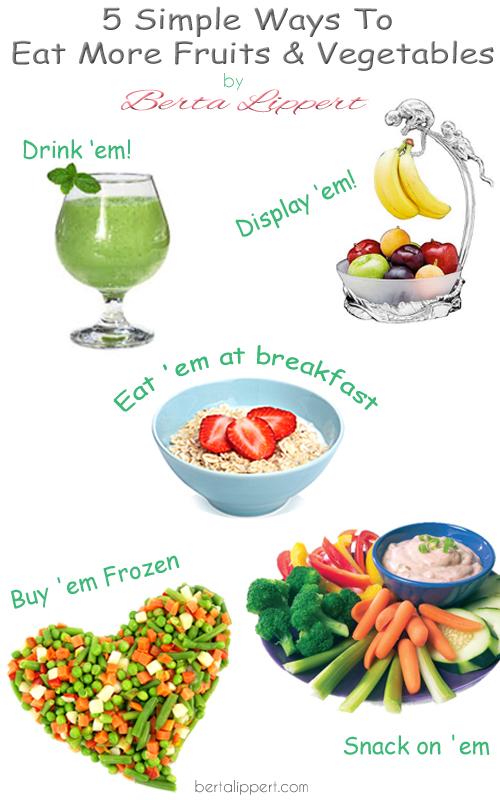 Ways To Make Kids To Eat More Fruits And Veggies
