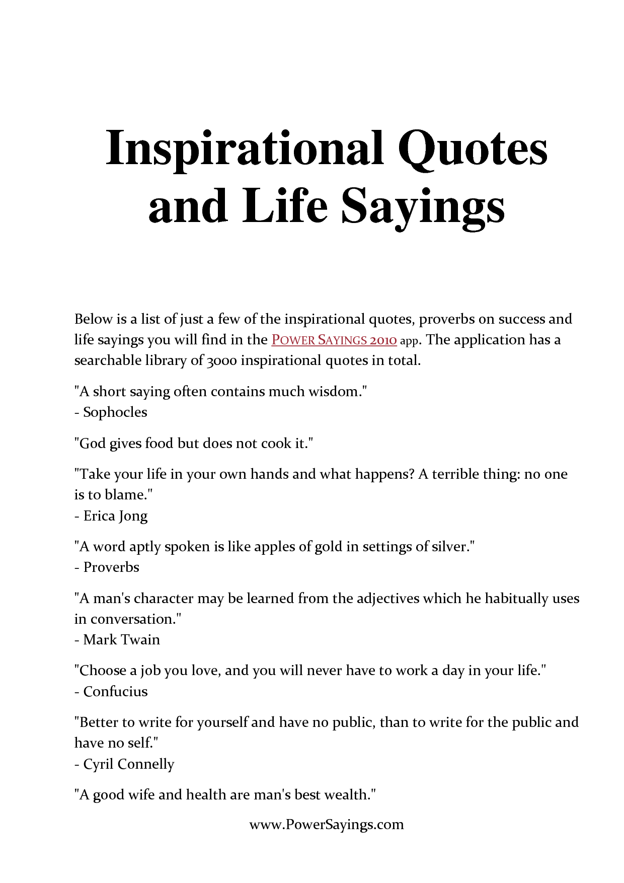 Motavation Quote: Inspirational Food Quotes Sayings. QuotesGram