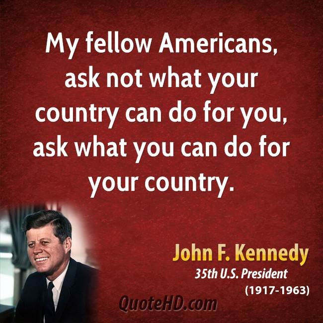 my fellow americans essay My fellow americans: john f kennedy´s presidential speech analysis 1028 words jun 21st, 2018 5 pages lots of things were happening in 1960 with john f kennedy was to be the president of the united states of america.