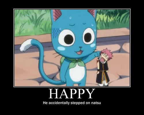 Happy Fairy Tail Quotes. QuotesGram